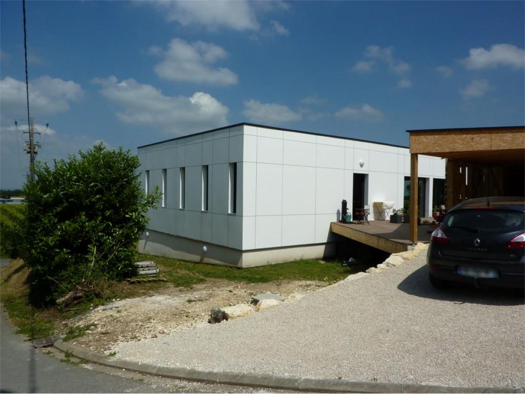 Fabrication d une maison individuelle en ossature bois for Fabrication ossature bois maison